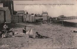 380 COURCEULLES    1931  TIMBRE  ECRITE VERSO - Courseulles-sur-Mer