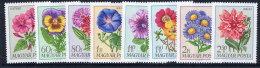 HUNGARY 1968 Garden Flowers Set MNH / **.  Michel 2452-59 - Hungary