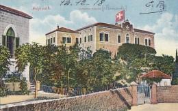 Liban - Beyrouth - Johanifer Hospital - Croix Malte - Militaria 1918 115 T. 18ème Cie - Editeur Tarazi Et Fils Beyrouth