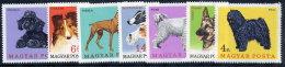 HUNGARY 1967 Dogs Set MNH / **.  Michel 2337-43 - Dogs