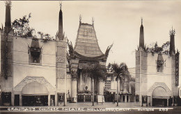 Cinéma - Carte-Photo - Grauman's Chinese Theatre - Hollywood California - Cinema