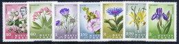 HUNGARY 1967 Carpathian Flowers Set MNH / **.  Michel 2307-13 - Hungary