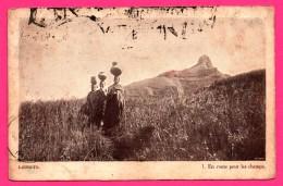 Lesotho - Société Des Missions Évangéliques - Lessouto - En Route Pour Les Champs - MORIJA - 1926 - Lesotho