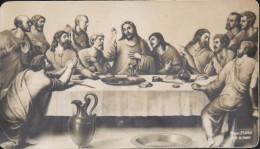 IMAGE ANCIENNE Jésus Et Les Apôtres - SOUVENIR De 1ére COMMUNION Faite à La Cathédrale De BONE Le 29 Mai 1941 - TBE - - Santini
