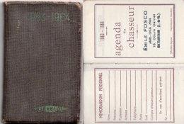 """Agenda Du Chasseur 1963-1964 Avec Calendrier """"gevelot"""" Emile Fosco Chateaurenard (13) Neuf (87811) - Kleinformat : 1961-70"""