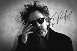 TIM BURTON Photo Dedicacée Hand Signed Signée Autographe - Autographes