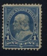EE.UU.  AÑO 1895.  Sc 264 - Yv 110 (USED) - Gebruikt