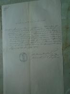 D137988.31 Old Document   Hungary Pest  -Francisc Pauer 1870 - Engagement