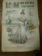1902 La MODE Du Petit Journal TOILETTES De PLAGE ,grav Couleurs  1ere Page & Double P - 1900-1940