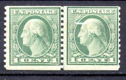 EE.UU.  AÑO 1912-1915.  Sc 405 -  Yv  182 AC (MNH) X 2 - Estados Unidos