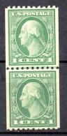 EE.UU.  AÑO 1912-1915.  Sc 405a -  Yv  182 AB (MNH) X 2 - Estados Unidos