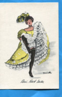 JANICOTTE-PARIS- FRENCH CAN CAN Années40-50 - Illustrators & Photographers