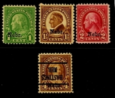 EE.UU.  AÑO 1929.  Sc 669/674 NEBRASKA  (MH) - Estados Unidos