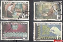Bosnia Sarajevo -  Old Crafts 2002 Used Set - Bosnie-Herzegovine