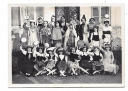 Photo Groupe Enfants NOEL 1930, TROUVILLE ?? - Sonstige