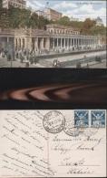 5817) EHEMALIGE GEBIETE KARLSBAD MUHLBRUNNEN VIAGGIATA 1923 - Boehmen Und Maehren
