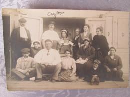 CAYEUX SUR MER .  CARTE PHOTO  D UN GROUPE - Autres Communes