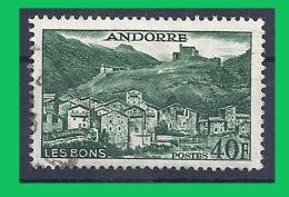 Franz. Andorra, 1955, Mi 153 O Used