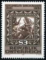 Österreich - Michel 1666 - ** Postfrisch (B) - Wilhelm Dachauer - 1945-.... 2nd Republic