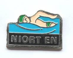 Pin´s  NIORT EN - Le Nageur - CMC - F439 - Swimming