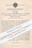 Original Patent - C. F. Göhmann , Dresden - Kaditz 1900 , Rippenheizrohr Mit Hohlen Rippen , Heizkörper , Heizung , Ofen - Documents Historiques