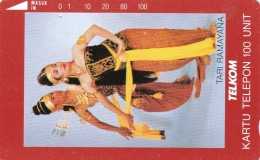Indonesia, S113, Tari Ramayana (Ramayana Dance), 2 Scans. - Indonésie