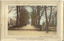 CPA Chartres - La Promenade Des Charbonniers - Chartres