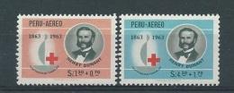 Peru         Y / T    Luchtpost     190 / 191       (X) - Peru