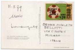 ECUADOR - GALAPAGOS - HERONS / THEMATIC STAMPS-FOOTBALL / WORLD CUP ARGENTINA 78 - Ecuador
