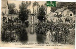 CPA  Loches Inonde(Crue De L'indre,Juin 1910) A L'Asile De La Vieillesse(228796) - Zonder Classificatie