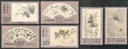 China (PRC),  Scott 2016 # 2471-2476,  Issued 1993,  Set Of 6,  MNH,  Cat $ 5.30,  Paintings - 1949 - ... République Populaire