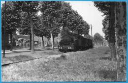 Format CPA - PHOTO M. GEIGER - 59 CAMBRAI Nord (voir Au Dos) Train Loco Locomotive Ferroviaire Chemin De Fer - Cambrai