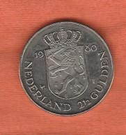 Netherlands 2 1/2 Gulden 1980 - 1980-…: Beatrix