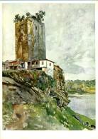 LAPELA - Torre - Inteiro Postal Stationery Card - Serie I RG 6 - Aguarela De Roque Gameiro - Portugal - Postal Stationery