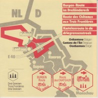 Brochure About The Three Countries Border: The Netherlands, Belgium, And Germany - Aardrijkskunde