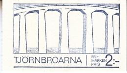 SWEDEN   824 A      **     BRIDGES - Booklets