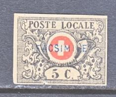 SWITZERLAND  GENEVE  10  *  FACSIMILE - 1843-1852 Federal & Cantonal Stamps