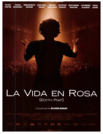(500) Advetising Postcrd - Carte Publiciatiare - Movie - La Vie En Rose, Edith Piaf (with Marion Cotillard) - Affiches Sur Carte