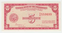 Philipines 5 Centavos 1949 UNC NEUF Pick 126 - Philippinen