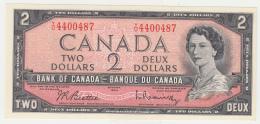 CANADA 2 DOLLAR 1954 (Signature Beattie-Rasminsky 1961-72) UNC NEUF Pick 76b 76 - Kanada