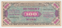 """GERMANY 100 Mark 1944 WWII """"F"""" Pick 197d 197 D - [ 5] 1945-1949 : Allies Occupation"""