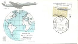AEROLINEAS ARGENTINAS INAUGURA LOS VUELOS A REACCION COMET 4 FDC 1959 BUENOS AIRES - Vliegtuigen