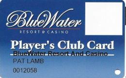 BlueWater Casino Parker, AZ - Slot Card - Casino Cards