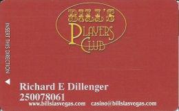 Bill's Gamblin' Hall Las Vegas, NV - Slot Card - @2006 - Casino Cards