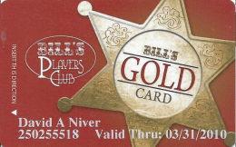 Bill´s Gamblin´ Hall Las Vegas, NV - Slot Card - @2008 - Casino Cards