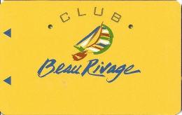 Beau Rivage Casino Biloxi MS - Slot Card - No Text Over Mag Stripe  (BLANK) - Casino Cards