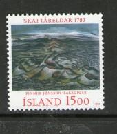 ISLANDE-ICELAND 1983 PEINTURE  YVERT N°555  NEUF MNH** - 1944-... Republic
