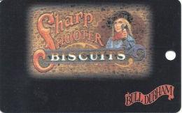 Bull Durham Casino Black Hawk CO - Slot Card - Light Brown Mag Stripe (BLANK) - Casino Cards