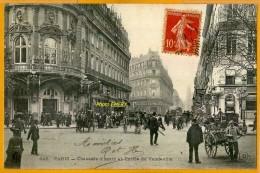 7509/45 Paris Rue De La Chaussée-d'antin, Théâtre Du Vaudeville, Ecrite**** - Distretto: 09