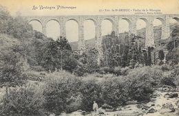 La Bretagne Pittoresque, Environs De St-Brieuc, Viaduc De La Méaugon, Collection A. Waron, Carte Précurseur Non Circulée - Ouvrages D'Art